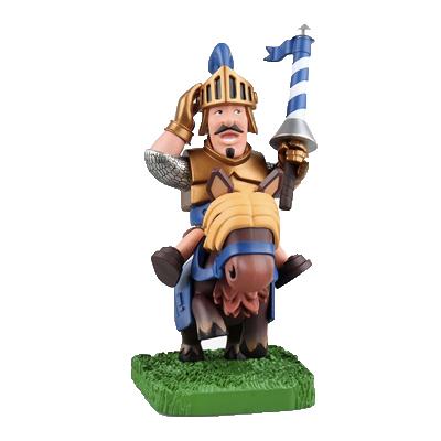 部落冲突 皇室战争 战争玩具 王子骑士 小型手办摆件 国产同款