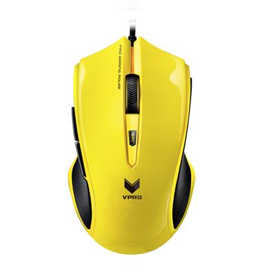 雷柏V20S游戏光学鼠标 游戏鼠标 LOL鼠标 CF USB有线鼠标